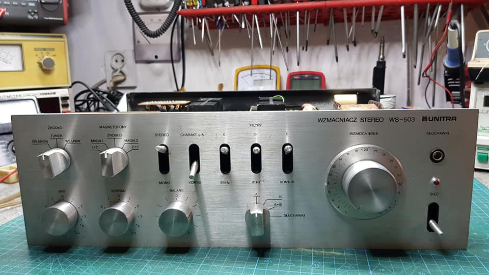 Wzmacniacz stereo WS-503